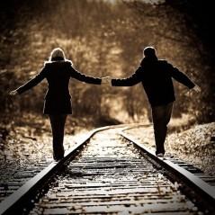 couple railroad