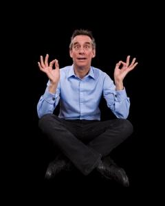 yoga crazy man
